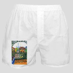 French Quarter Balcony Boxer Shorts
