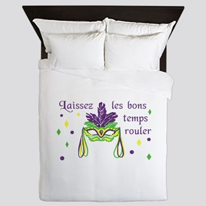 LET THE GOOD TIMES ROLL Queen Duvet