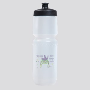LET THE GOOD TIMES ROLL Sports Bottle