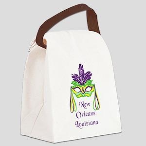 NEW ORLEANS LOISIANA Canvas Lunch Bag