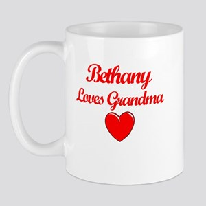 Bethany Loves Grandma Mug