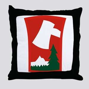 70th ID Throw Pillow