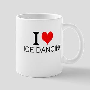 I Love Ice Dancing Mugs