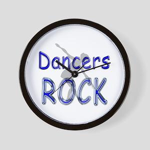 Dancers Rock Wall Clock