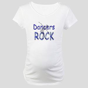 Dancers Rock Maternity T-Shirt