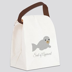 Seal Of Approval Canvas Lunch Bag