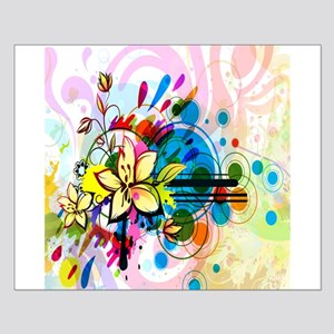 Flower Abstract Posters Small Poster