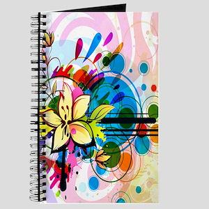 Flower Abstract Journal