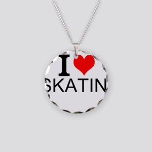I Love Skating Necklace