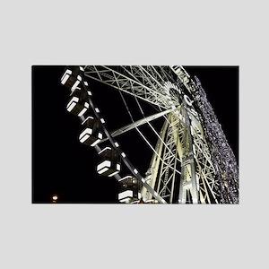 Paris Holiday Farris Wheel Christmas Marke Magnets