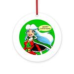 Christmas Eve Super Holiday Ornament