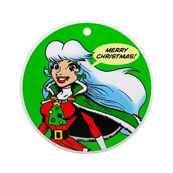 Christmas Eve Super Holiday Ornament