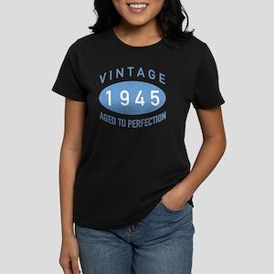 1945 Vintage Women's Dark T-Shirt