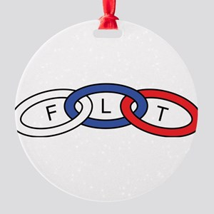 International Order of the Odd Fell Round Ornament