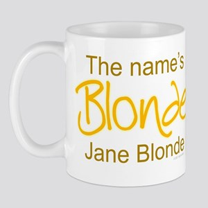 The Name's Blonde Mug
