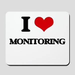 I Love Monitoring Mousepad