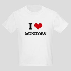 I Love Monitors T-Shirt
