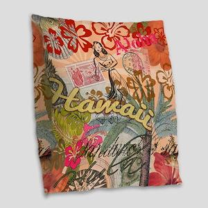 Vintage Hawaii Travel Colorful Hawaiian Tropical B