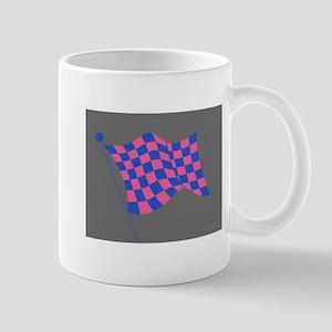 pink and blue flag Mug