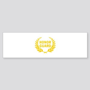 HONOR GUARD WREATH Bumper Sticker