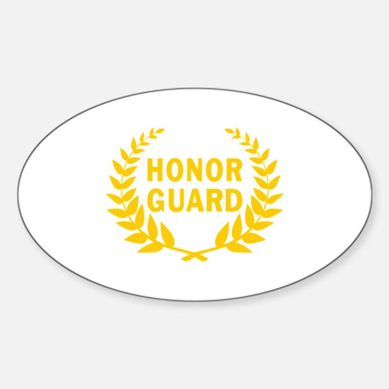 HONOR GUARD WREATH Decal