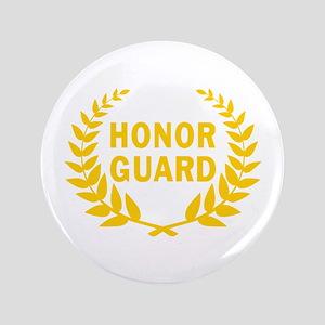"HONOR GUARD WREATH 3.5"" Button"