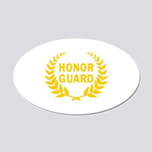 HONOR GUARD WREATH Wall Decal