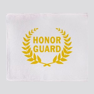 HONOR GUARD WREATH Throw Blanket