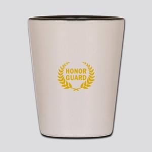 HONOR GUARD WREATH Shot Glass