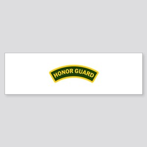 HONOR GUARD ARCHED Bumper Sticker