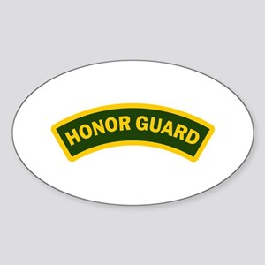 HONOR GUARD ARCHED Sticker