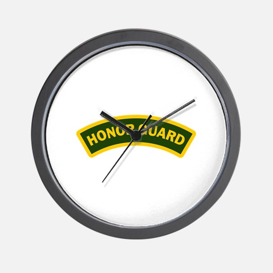 HONOR GUARD ARCHED Wall Clock