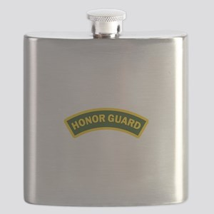 HONOR GUARD ARCHED Flask