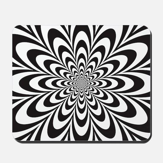 Infinite Flower Mousepad