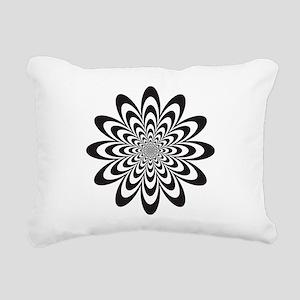 Infinite Flower Rectangular Canvas Pillow