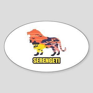 LION SERENGETI Sticker