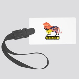 LION SERENGETI Luggage Tag