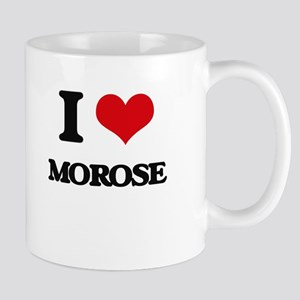 I Love Morose Mugs