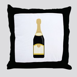 champagne_base Throw Pillow