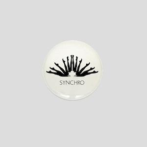 Synchronized Swimming Mini Button