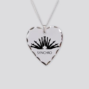 Synchronized Swimming Necklace Heart Charm