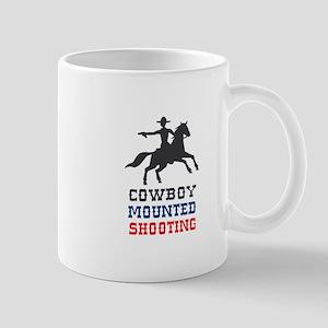 COWBOY MOUNTED SHOOTING Mugs