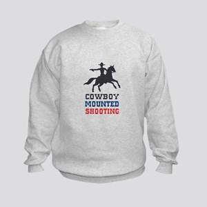 COWBOY MOUNTED SHOOTING Sweatshirt