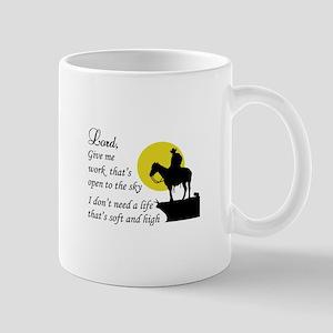COWBOY PRAYER Mugs