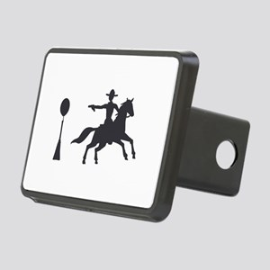 COWBOY MOUNTED SHOOTING Hitch Cover