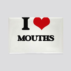 I Love Mouths Magnets