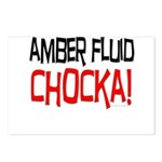 Amber Fluid - Chocka Postcards (Package of 8)