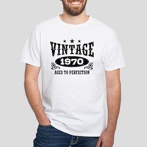 Vintage 1970 White T-Shirt
