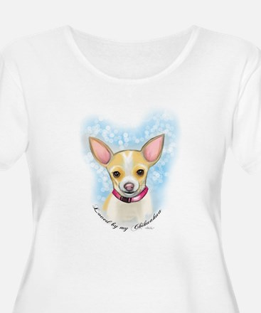 Loved by Chihuahua Plus Size T-Shirt