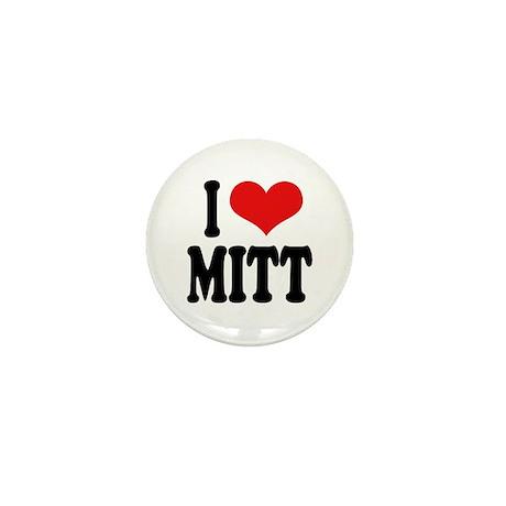I Love Mitt Mini Button (10 pack)